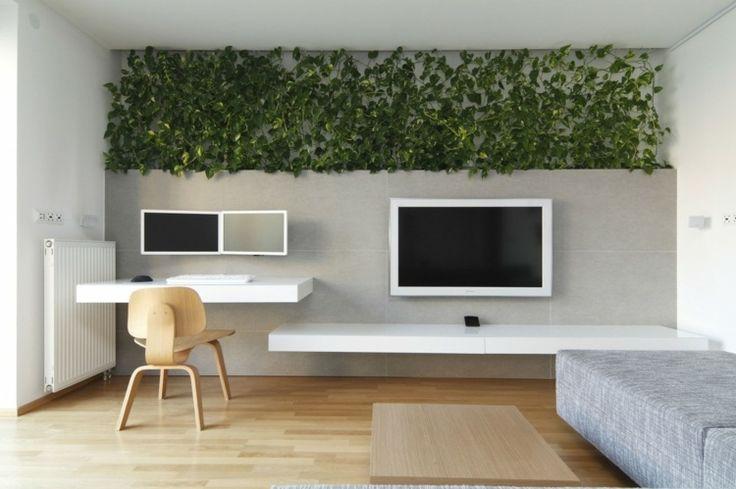 Schlichtes Wohnwand Design