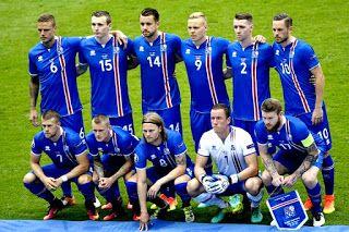 EQUIPOS DE FÚTBOL: SELECCIÓN DE ISLANDIA en la Eurocopa 2016