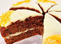 Carrot & Orange cake - yumm!