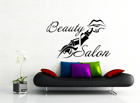 50 best images about perfect wall decals on pinterest for Stickers design salon