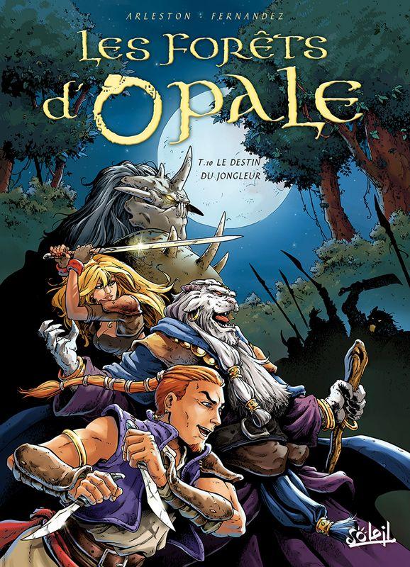 Le Destin du Jongleur - (Cédric Fernandez / Christophe Arleston) - Heroic Fantasy-Magie [TRIBULLES, une librairie du réseau Canal BD]