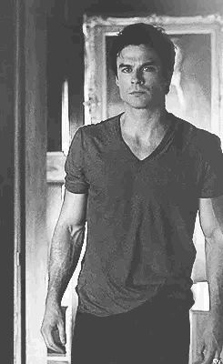 Oooommmmgggg Ian Somerhalder as Damon Salvatore | The Vampire Diaries