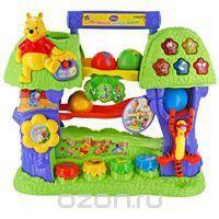 """Обучающее дерево Винни. Обучающая игрушка  — 3829.5р. ---------- """"Обучающее дерево Винни"""" - обучающая игрушка, способствующая развитию понимания речи, памяти, логики и внимания малыша. Опускайте цветные шарики в крону дерева и следите за их движением, слушайте издаваемые звуки и мелодии. Ваш малыш научится не только считать и различать цвета, но и будет отвечать на вопросы, слушать забавные фразы и веселые мелодии. Шевелите листья, нажимайте на Тигрулю, кнопки в виде горшочков с медом или…"""