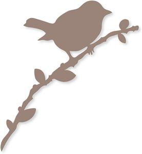 View Design: bird on branch