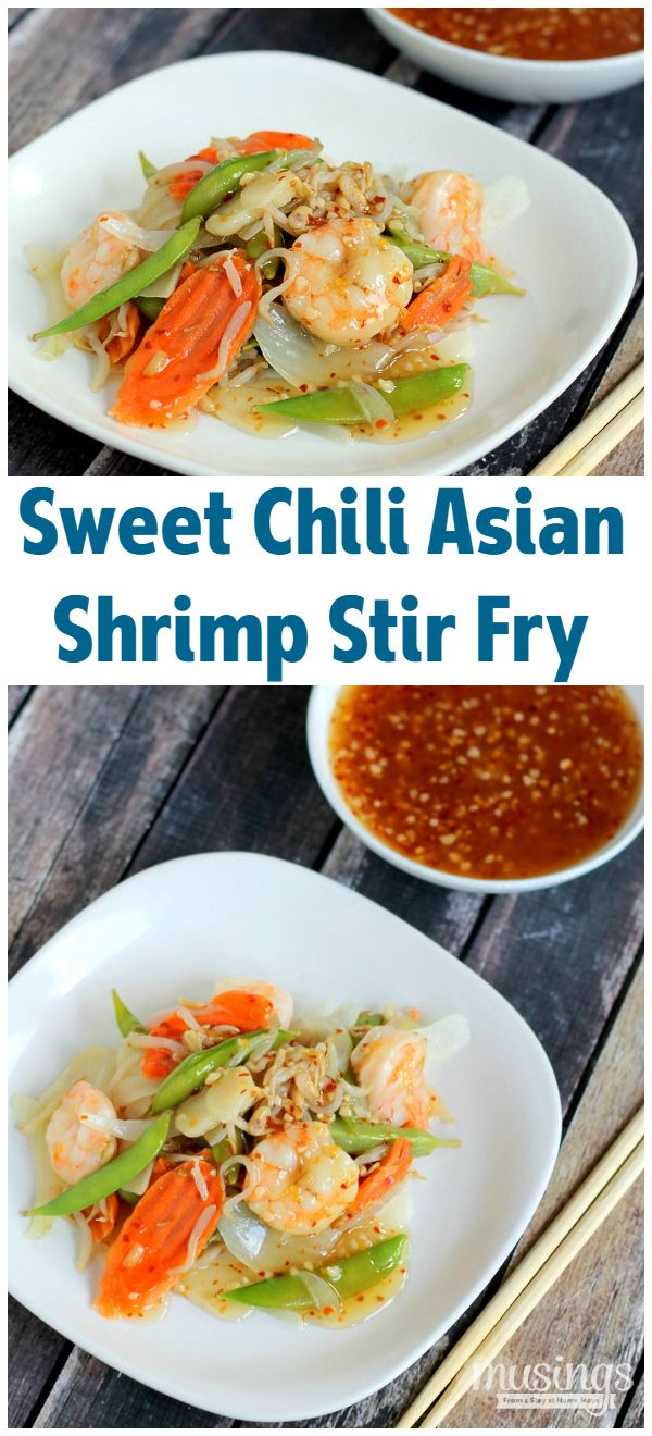 Treat yourself to this tasty Sweet Chili Asian Shrimp Stir Fry recipe ...