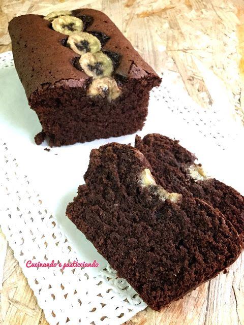 Cucinando e Pasticciando: Plumcake Light Cioccolato e banane