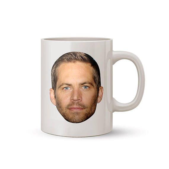 Paul Walker Face Mug Coffee/Tea Mug  Perfect Gift for