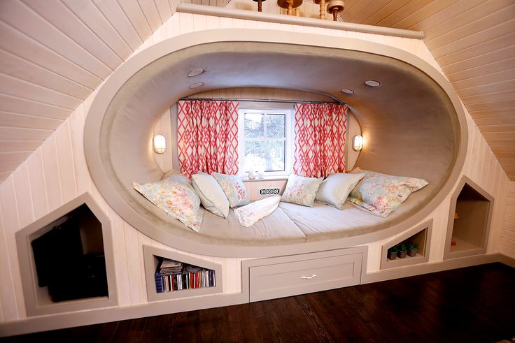 You've heard of the 'man cave'.  How about the 'lady cove'?  We created a peaceful haven for the homeowner to relax, read, dance and let go of the stresses of her day.  Who wouldn't want to curl up in a cozy custom window-seat day bed?  Designed and built by Paul Lafrance Design.