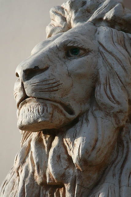 Another stone lion | Flickr - Photo Sharing!
