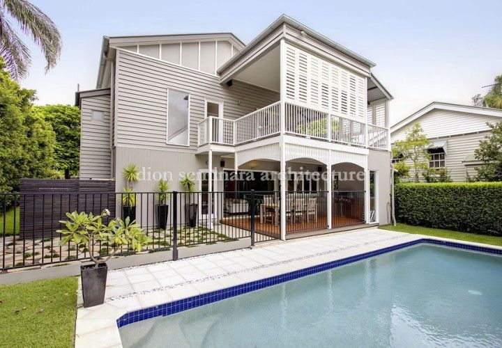 Architects Hawthorne, Brisbane QLD 4171 - Queenslander Renovation