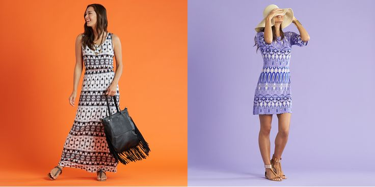 Summer Dresses Stitch Fix--LOVE the one on the right!!!