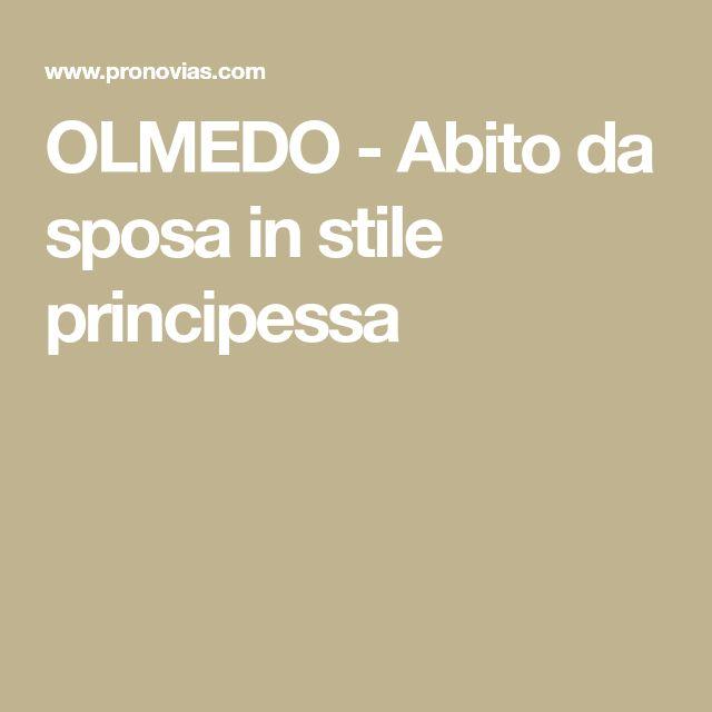 OLMEDO - Abito da sposa in stile principessa