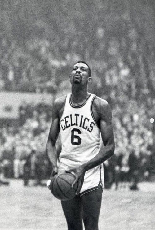 Bill Russell, Boston Celtics (his teams won eight NBA titles in a row from 1959-1966)