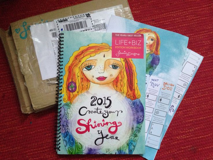 Life + Biz 2015 goal workbook  just arrived!