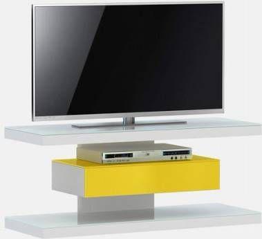 Jahnke Moebel SL 610 TV meubel Wit/Geel online kopen