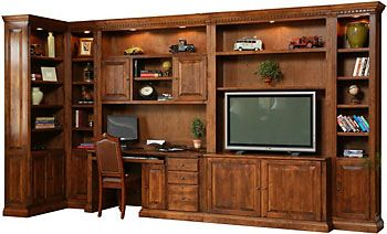 Personalize This Solid Wood Entertainment Collection STU726