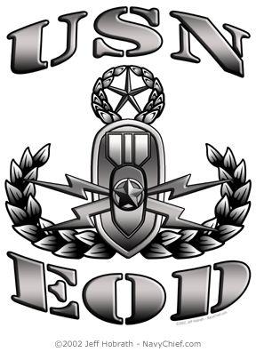 us navy eod.. My daddy is a badass