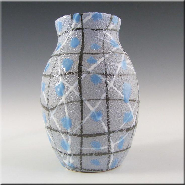Fratelli Fanciullacci Italian Ceramic Pottery Textured Vase #2 - £30.00