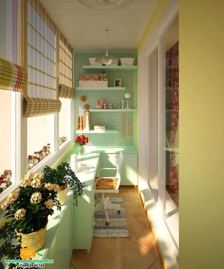 Изумительная идея как переделать лоджию в красивую комнату