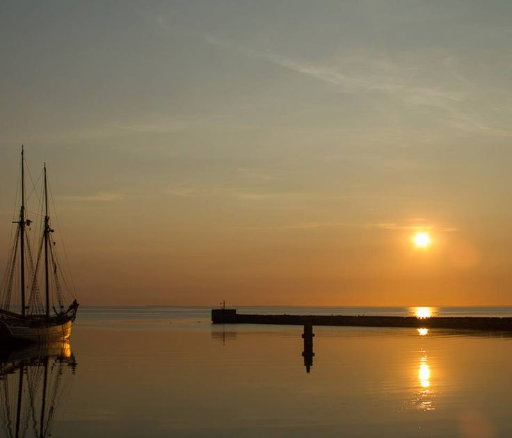 Samsoe island in Denmark