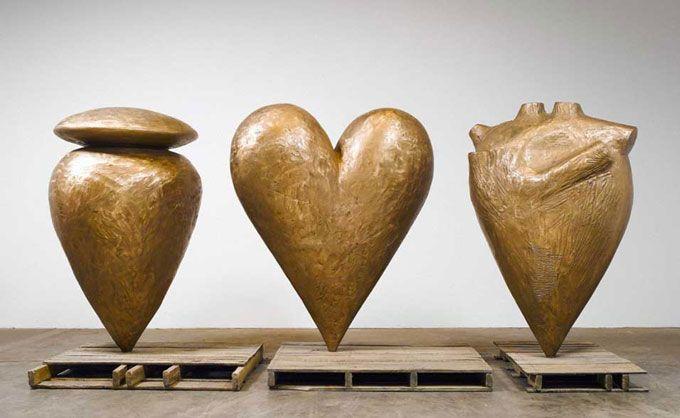 Ex Voto  Jim Dine  2002, Bronze
