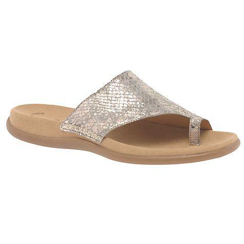 Buy Gabor Lanzarote Slip On Sandals Online at johnlewis.com