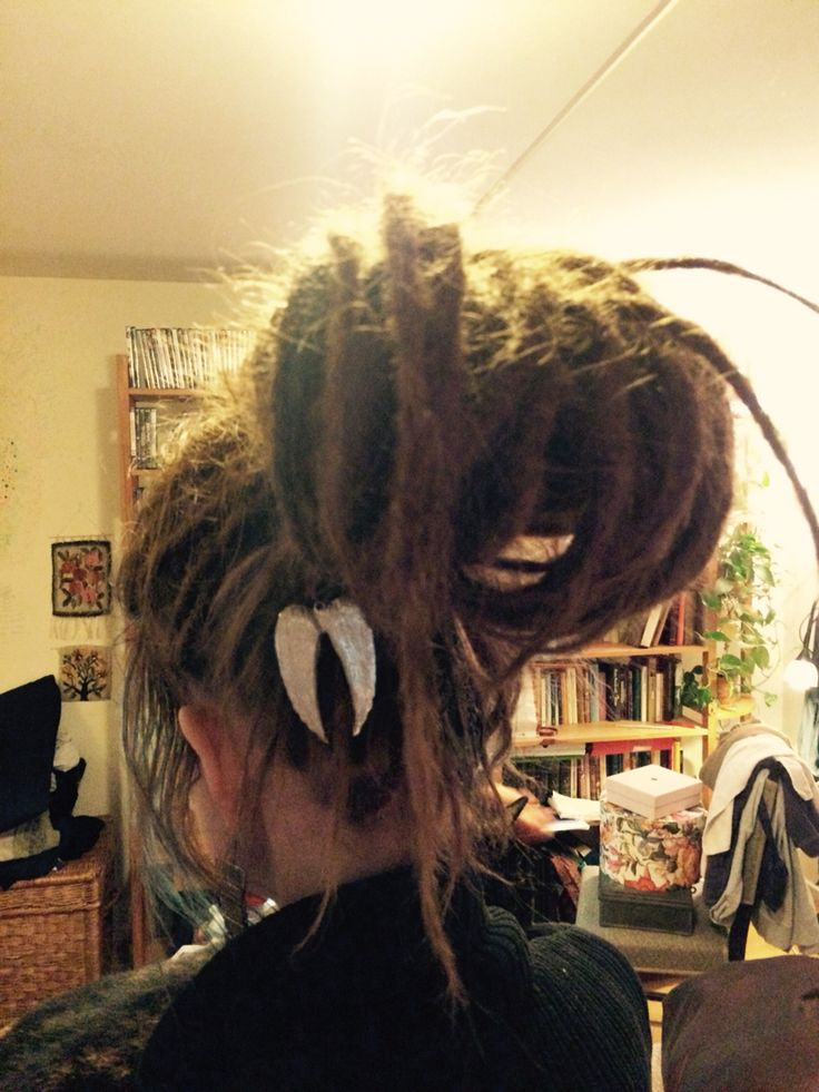 I Love to be creative with My dreadlocks, anything Cute goes right into them. ✌️❤️