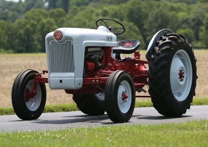 1956 Ford 640 Tractor Fenders : Hemmings find of the day ford golden jubilee