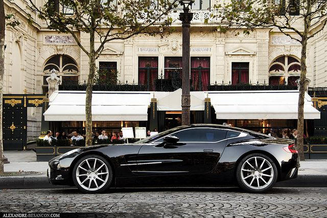 Aston Martin One-77 One of my numerous dream cars.