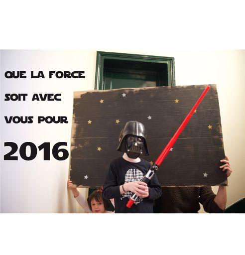 Bonne année 2016 Stars Wars