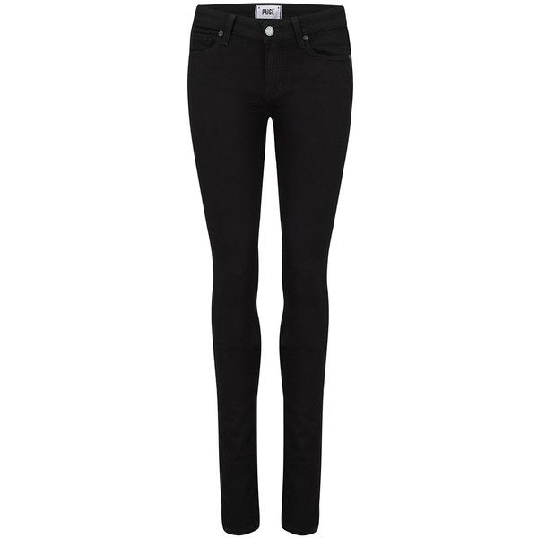 Paige Denim Leggy Ultra Skinny Jeans - Black Shadow (170 CAD) ❤ liked on Polyvore featuring jeans, pants, bottoms, black jeans, denim, black shadow, super stretch jeans, slim cut jeans, stretchy skinny jeans and skinny fit jeans