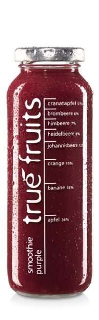 true fruits smoothie purple (Beerenmix)