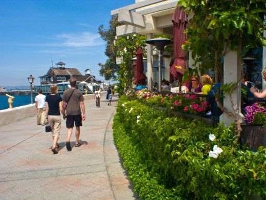 Seaport Village, San Diego, features excellent restaurants and unique shops, all located on the water.