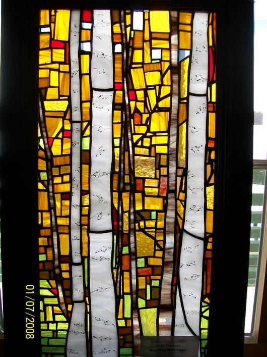 170 Best Images About Stained Glass Trees On Pinterest