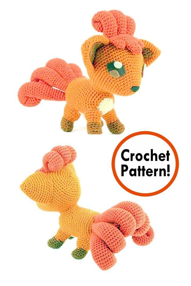 12 Free Pokemon Go Amigurumi Crochet Patterns | 938x625