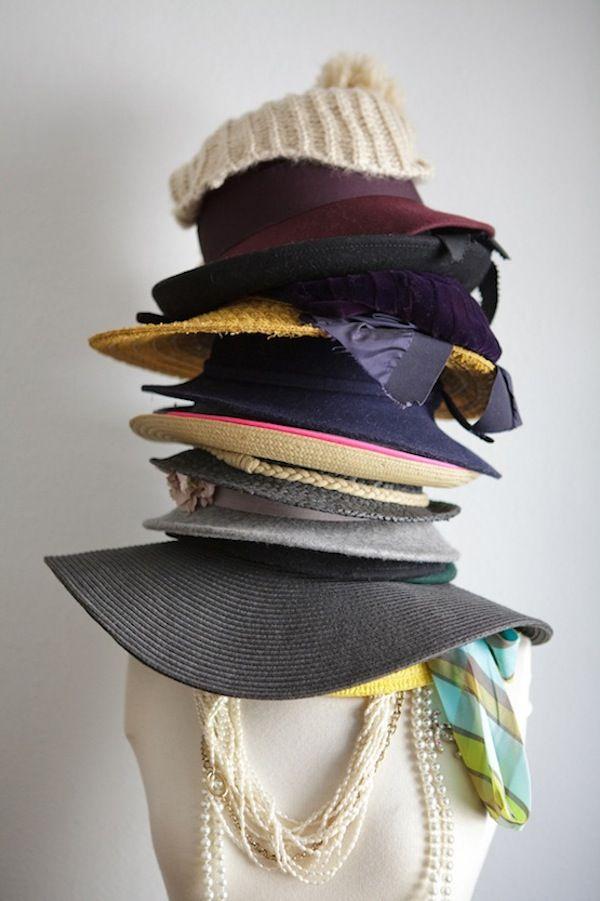 18 hat organizing ideas for summer closet wardrobe for Hat organizer for closet