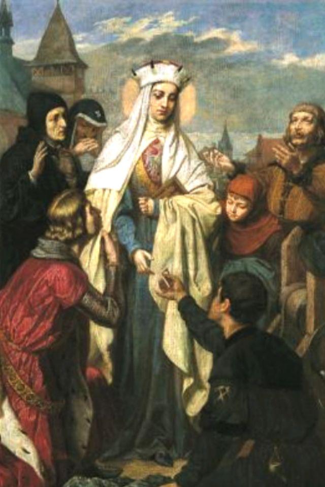 St Kinga of Poland