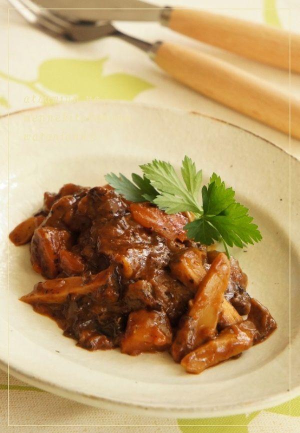 時短で牛すね肉のとろとろ煮込み by 渥美真由美 | レシピサイト「Nadia | ナディア」プロの料理を無料で検索