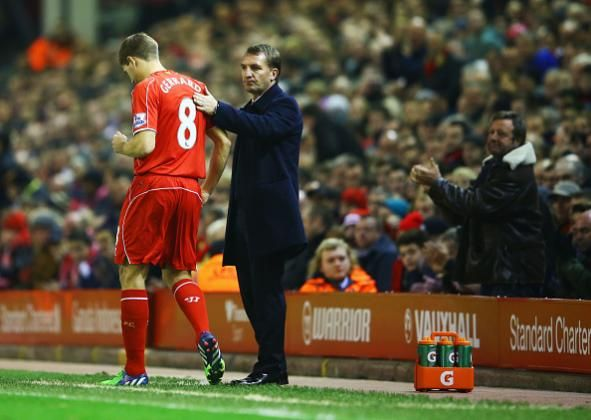 #rumors  Ex-Liverpool boss Brendan Rodgers speaks out on Steven Gerrard to Celtic speculation