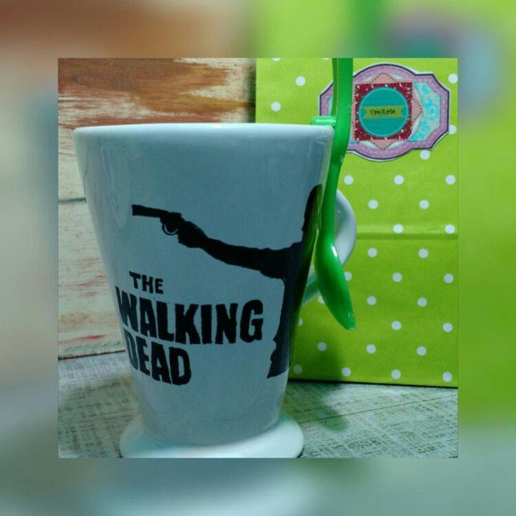 #thewalkingdead pintada a mano.