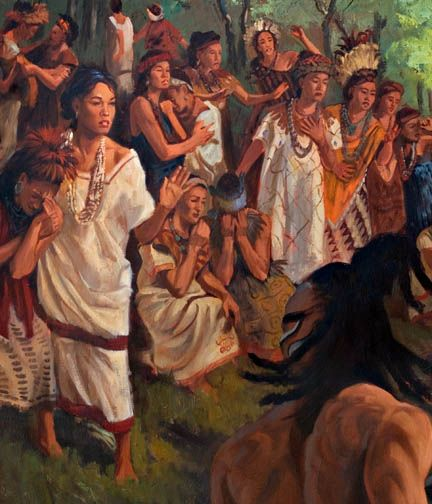 Courageous Daughters stopped the Lamanites from killing their families
