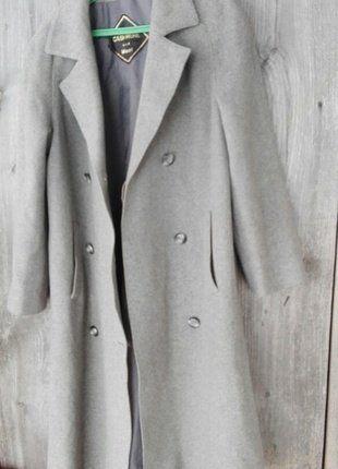 Kup mój przedmiot na #vintedpl http://www.vinted.pl/damska-odziez/plaszcze/16345211-szary-plaszcz-basic-kaszmir-welna-hit