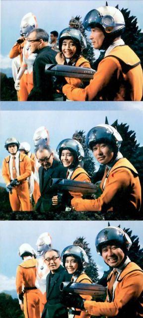古谷 敏 in ウルトラマン 1966 - すそ洗い