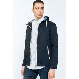Dad will appreciate this fashionalbe and functional hooded utility jacket with full zip from Urban Planet.