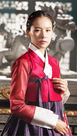 한복 Hanbok : Korean traditional clothes[dress] | The King's Face - Kim GaHee