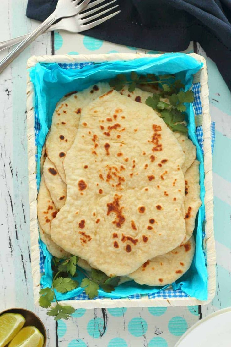 Super Easy Vegan Naan Bread The Perfect Accompaniment To A