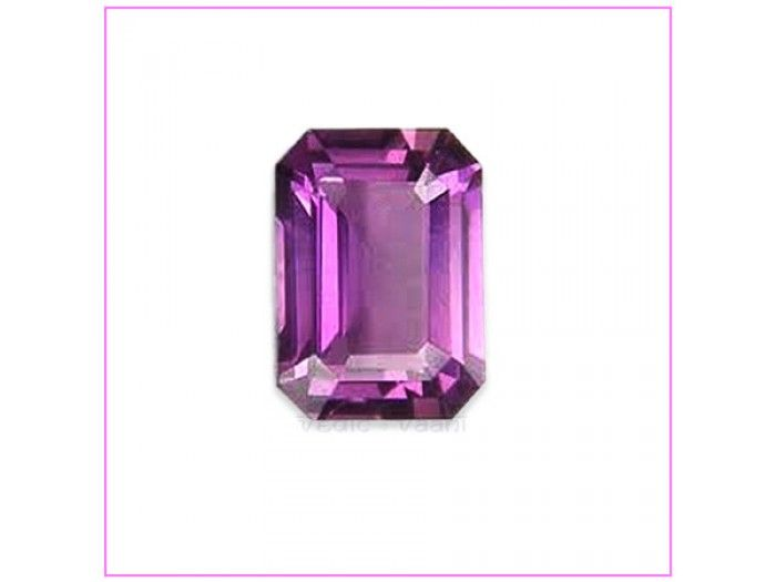 Amethyst is cleansing gem, at both physical and psychological levels. It promotes internal balance and harmony and brings stability to the individual. Amethyst is capable of raising ones spirits, promoting self assurance and confidence. They brighten the outlook on life and enhance the sense of humor. http://vedicvaani.com/index.php?_route_=Amethyst-%205-6carats . The virtues of amethyst include beauty, calm, fulfillment, humility, a loving demeanor, perfection, piety, sincerity, spiritual