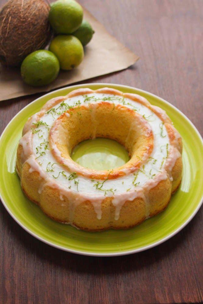 my blissfood: Κέικ με lime και καρύδα/Coconut lime cake