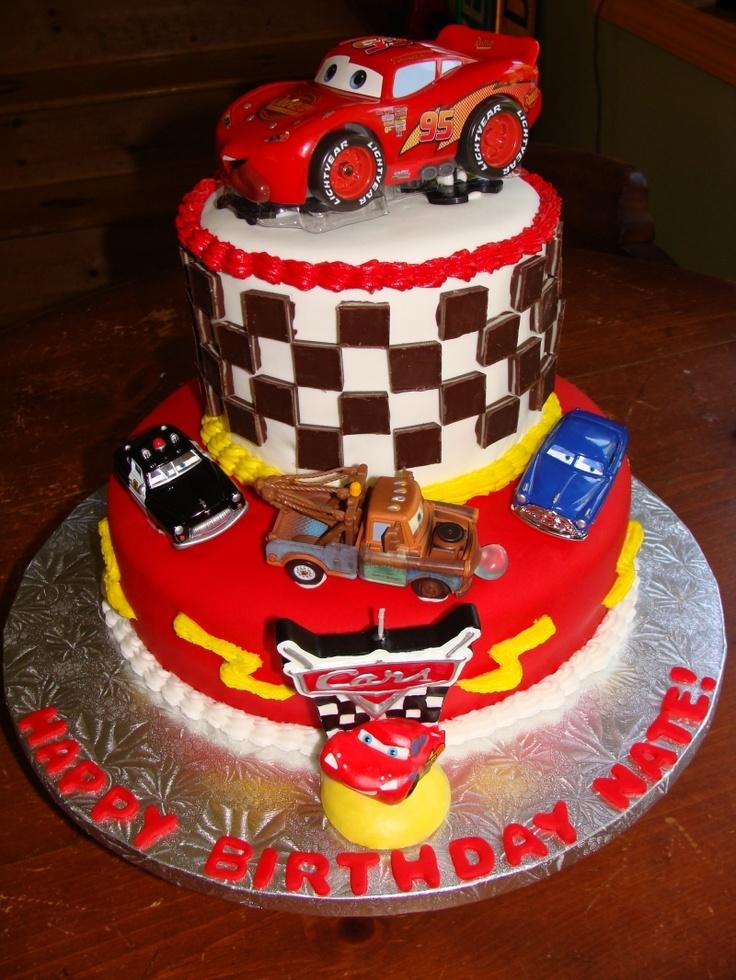 Cars Cake Cars Birthday Cake Birthday Cake Pictures