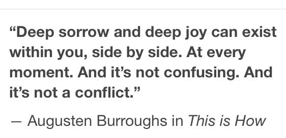 Augusten Burroughs Although I'd say, yes, it is confusing oftentimes.